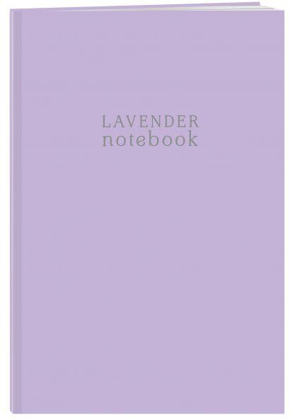 Тетрадь студенческая в клетку Lavender notebook, А4, 40 листов - фото 1