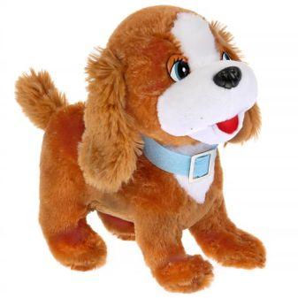 Игрушка мягкая Стихи А. Барто щенок, 22см, муз. чип, в пак. Мульти-пульти в кор.24шт