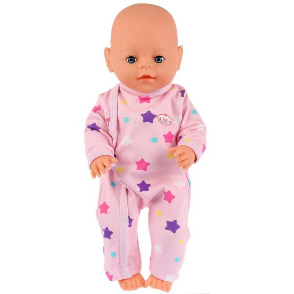 """Одежда для кукол 40-42 см, комбинезон """"звезды"""" Карапуз в пак. в кор.100шт"""