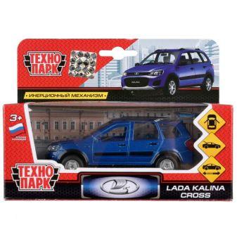 Машина металл LADA Kalina Cross 12см, открыв. двери и багажник, инерц, в кор. Технопарк в кор.2*24шт