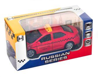 Автомобиль такси, инерционный,  в ассортименте