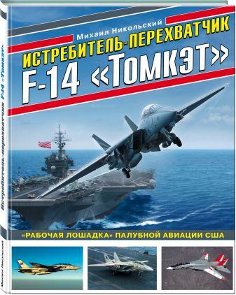 Михаил Никольский - Истребитель-перехватчик F-14 «Томкэт». «Рабочая лошадка» палубной авиации США обложка книги