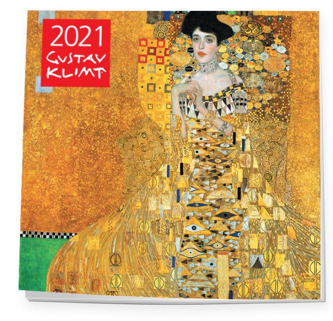 Густав Климт. Календарь настенный на 2021 год (300х300 мм)