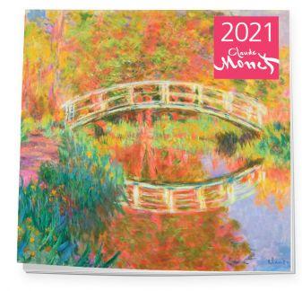 Настенный календарь на 2021 год «Клод Моне», 30х30 см
