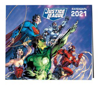 Вселенная DC. Календарь настенный на 2021 год (300х300 мм)