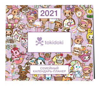 Вселенная tokidoki. Настенный календарь-планер на 2021 год (245х280 мм)