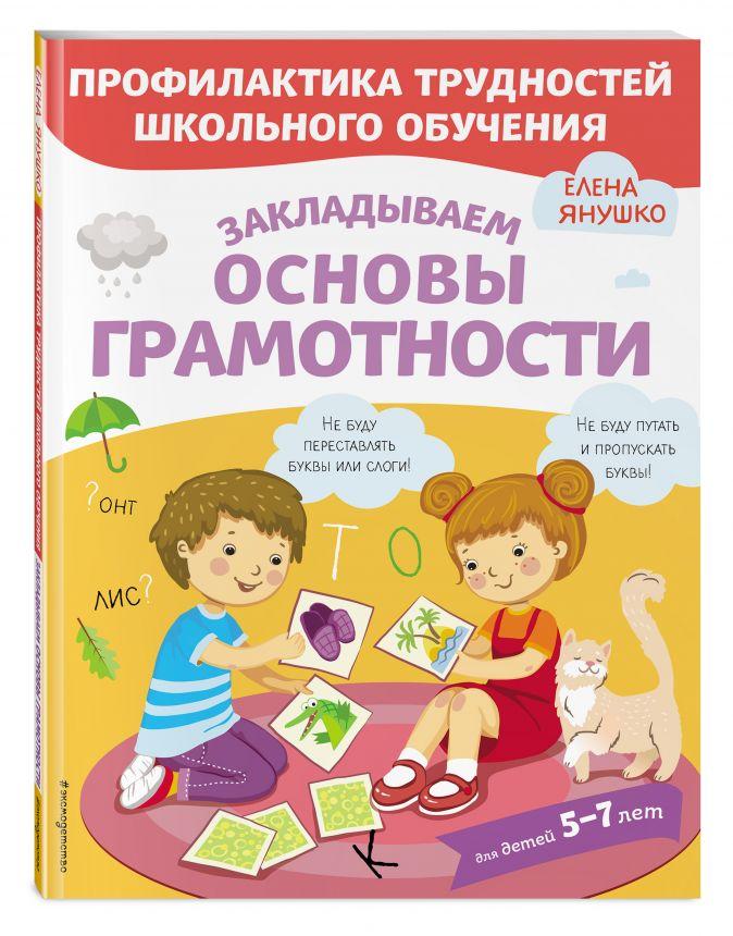 Янушко Е.А. - Закладываем основы грамотности обложка книги