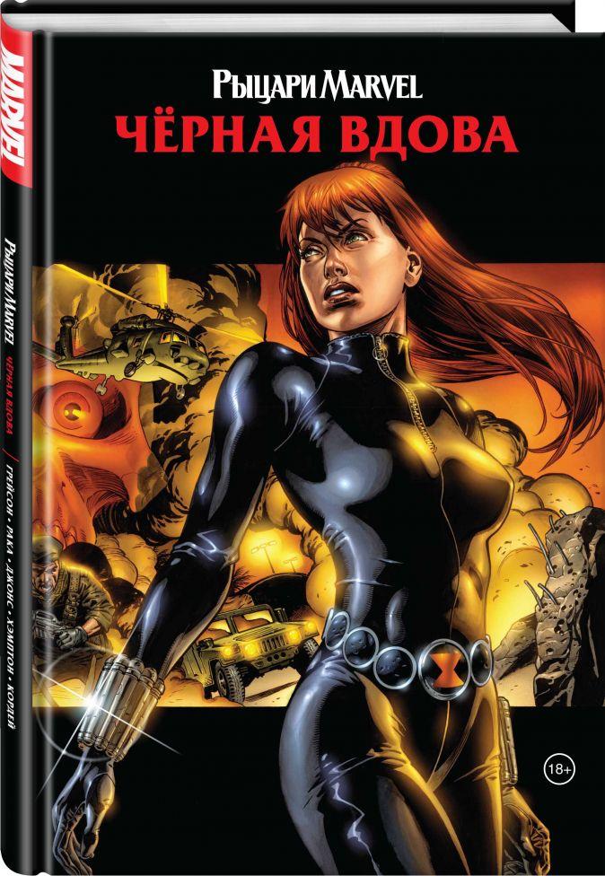 Грег Рака - Рыцари Marvel. Чёрная вдова. Обложка с Наташей Романовой обложка книги