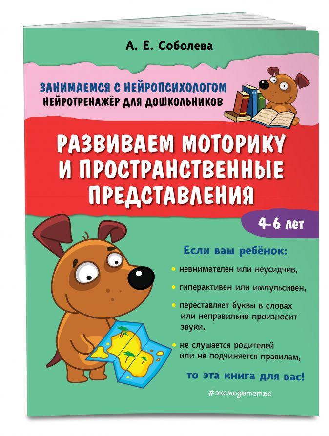 А. Е. Соболева - Развиваем моторику и пространственные представления обложка книги
