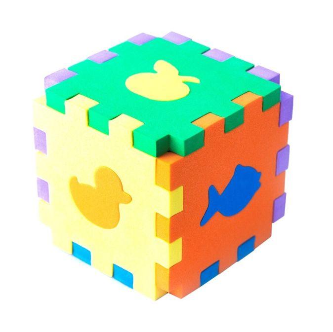Первые игрушки. Кубик-сортер