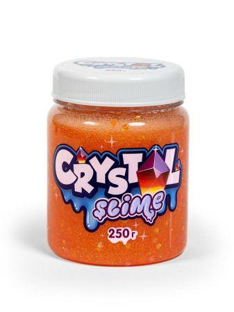 Игрушка ТМ «Slime» Crystal slime, апельсиновый, 250г
