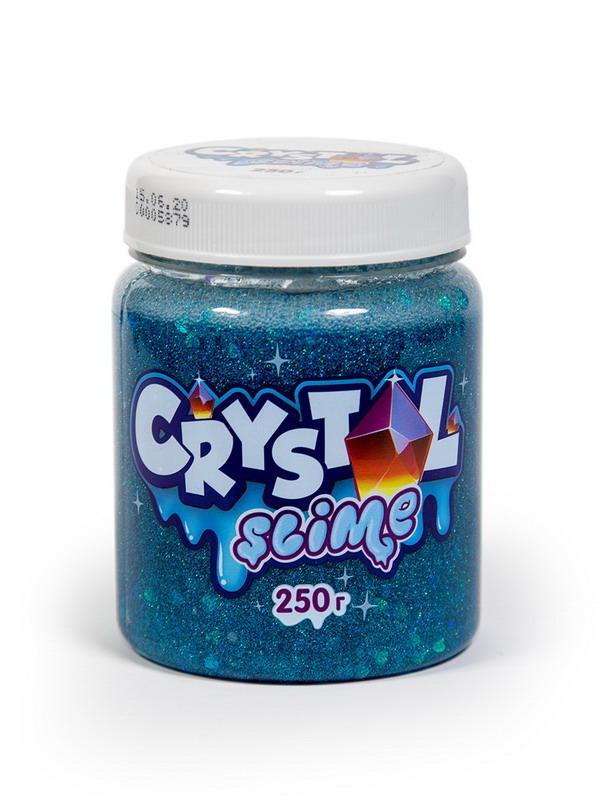 Игрушка ТМ «Slime» Crystal slime, голубой, 250г