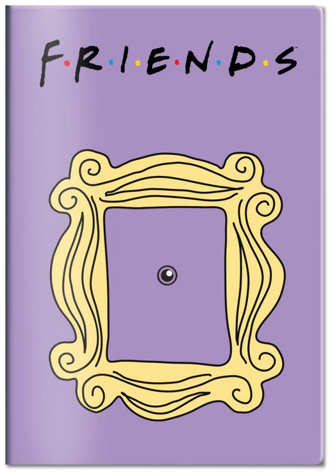 Обложка для паспорта Friends