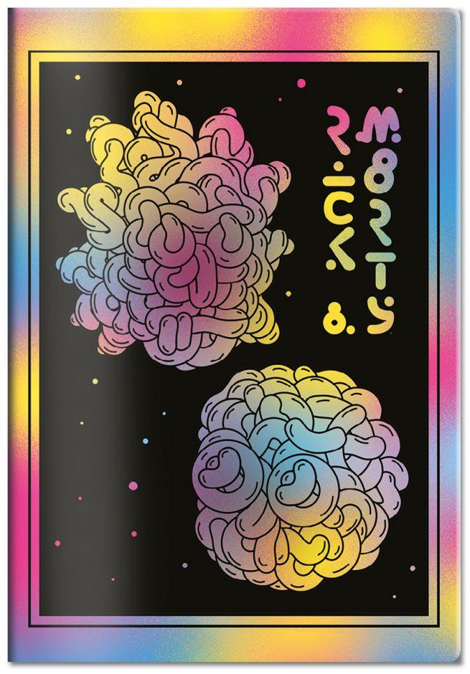 Обложка для паспорта «Рик и Морти»