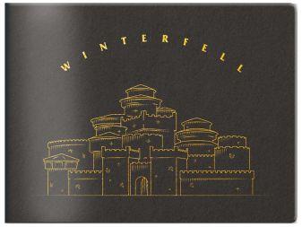 Кардхолдер в форме книжки «Игра Престолов. Винтерфелл»