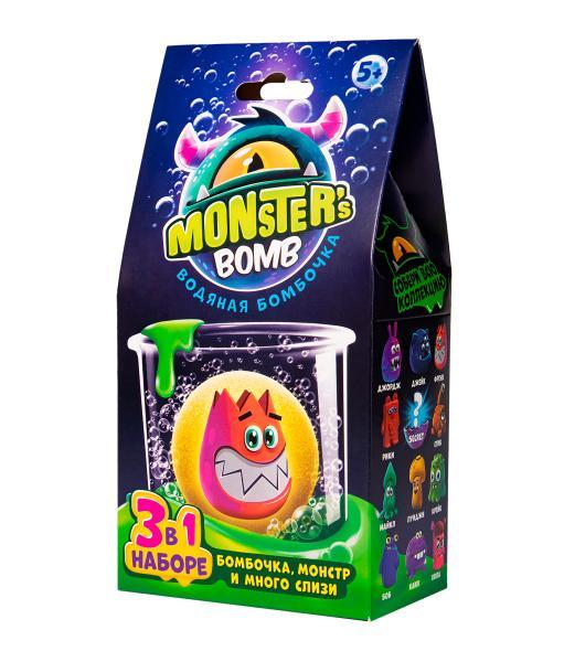 "Игрушка в наборе ТМ ""Monster's bomb"""