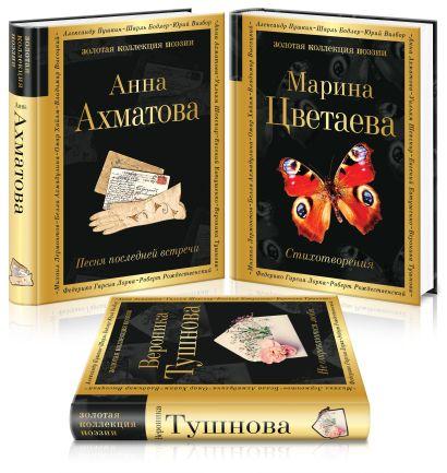 Женская лирика ХХ века (комплект из 3 книг: Ахматова, Цветаева, Тушнова) - фото 1