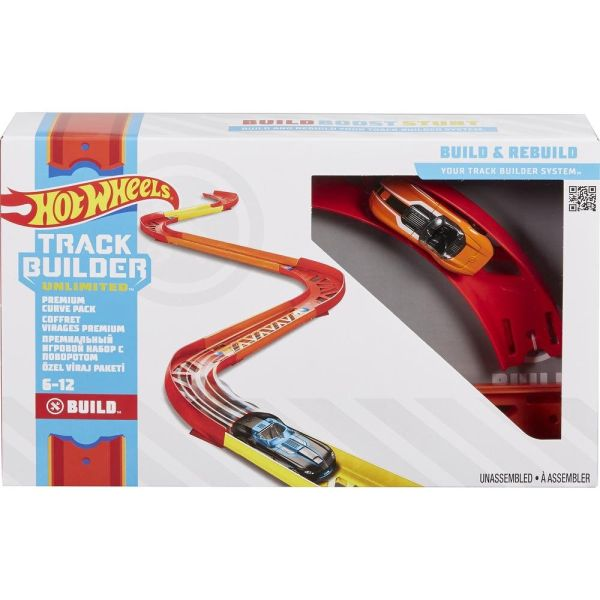 Конструктор трасс Hot Wheels®. Крутой поворот