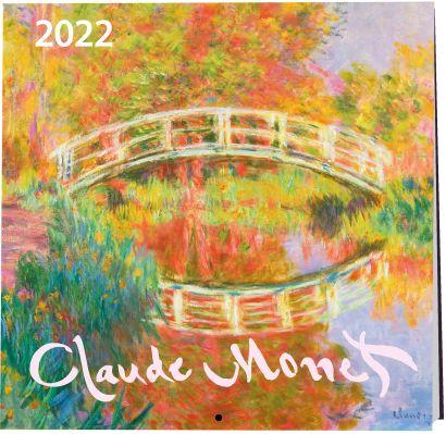 Клод Моне. Календарь настенный на 2022 год (170х170 мм) - фото 1