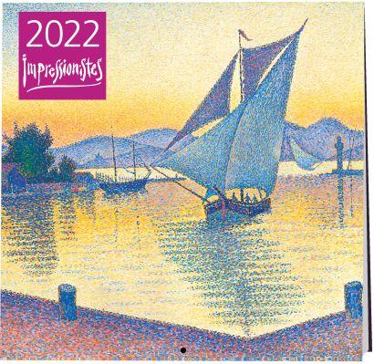 Импрессионисты. Календарь настенный на 2022 год (170х170 мм) - фото 1