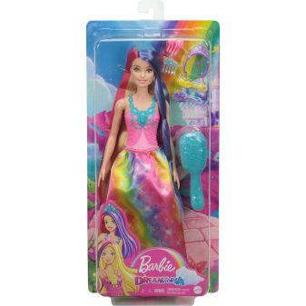 """Barbie Кукла """"Игра с волосами"""" принцесса с длинными волосами"""
