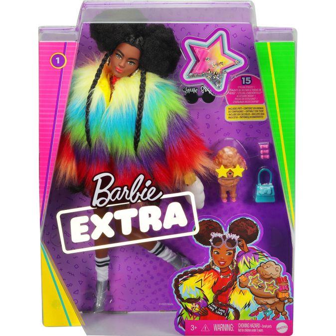 Barbie® Экстра - Кукла в радужном пальто