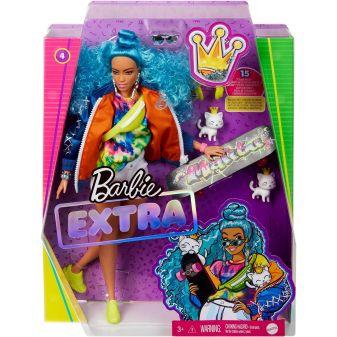 Barbie® Экстра - Кукла с голубыми волосами