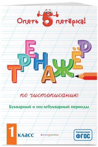 Е. О. Пожилова - Тренажер по чистописанию. Букварный и послебукварный периоды. 1 класс обложка книги
