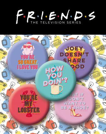 Набор значков. Friends (5 шт.)