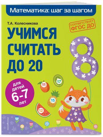 Т. А. Колесникова - Учимся считать до 20: для детей 6-7 лет обложка книги