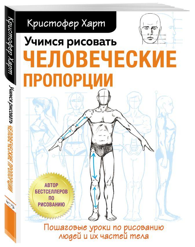Кристофер Харт - Учимся рисовать человеческие пропорции обложка книги