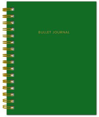 Bullet Journal в точку, 60 листов, изумрудный