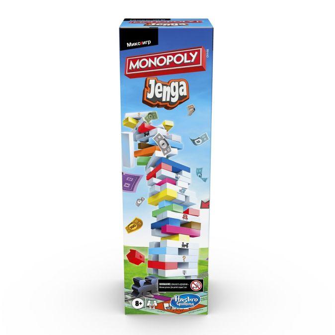 Настольная игра «Монополия Дженга»